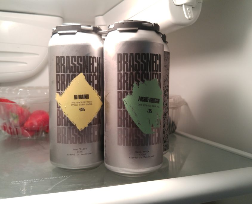 Vancouver Brewery Tours - Brassneck Brewing Craft Beer in Cans