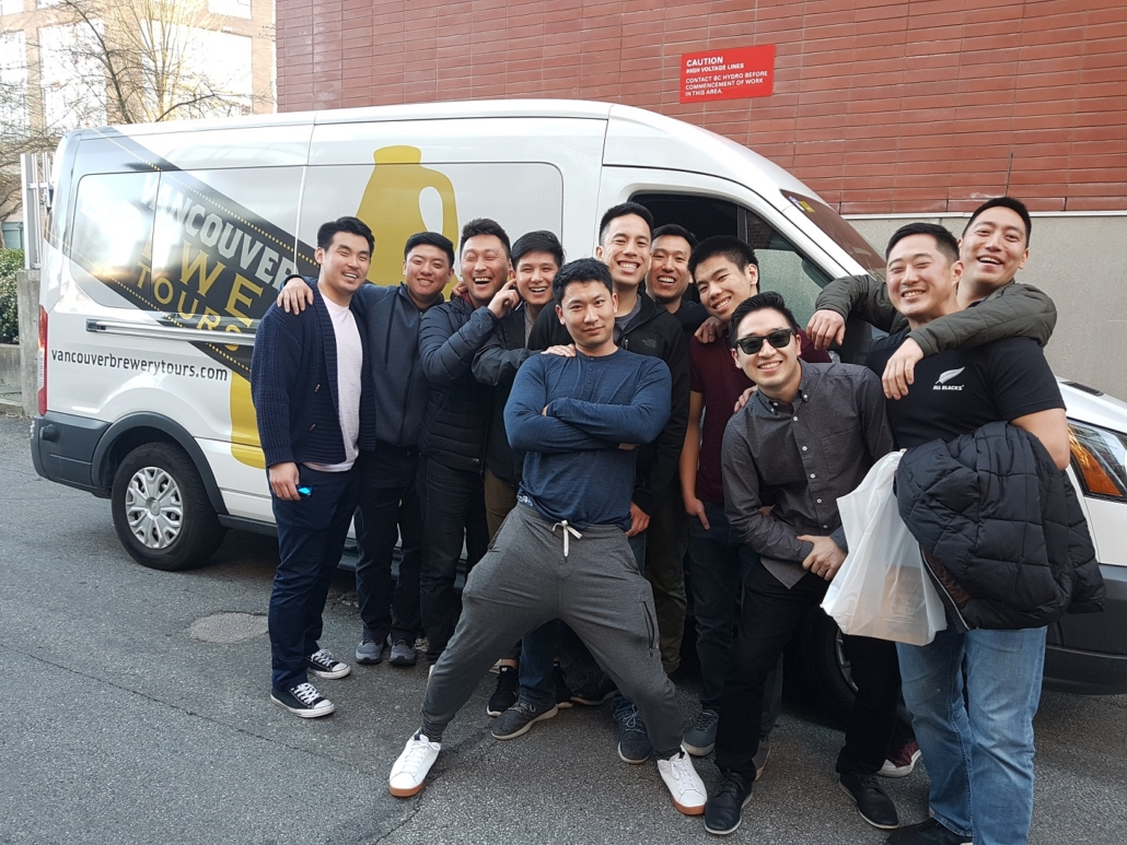 Bachelor Party Brewing Tours - Vancouver Brewery Tours