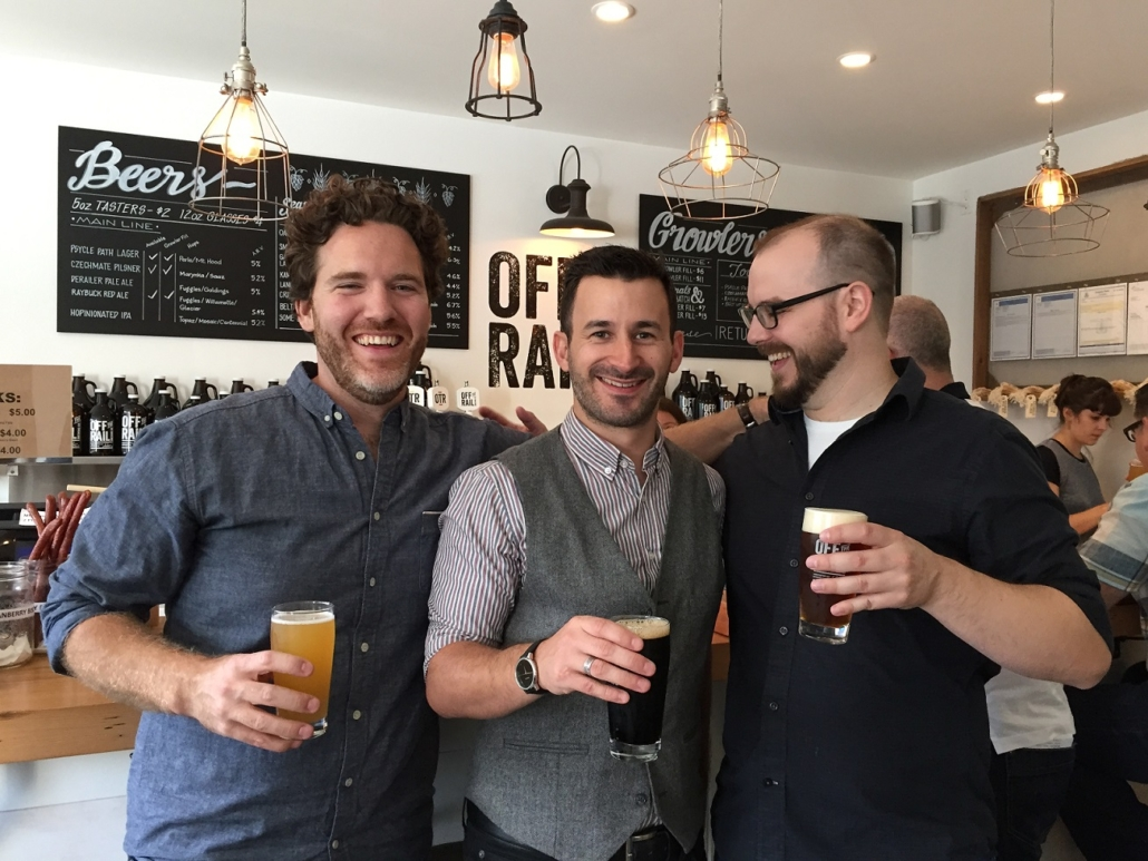 Bachelor Party Ideas Vancouver - Bachelor Brewery Tours - Off the Rail Brewing