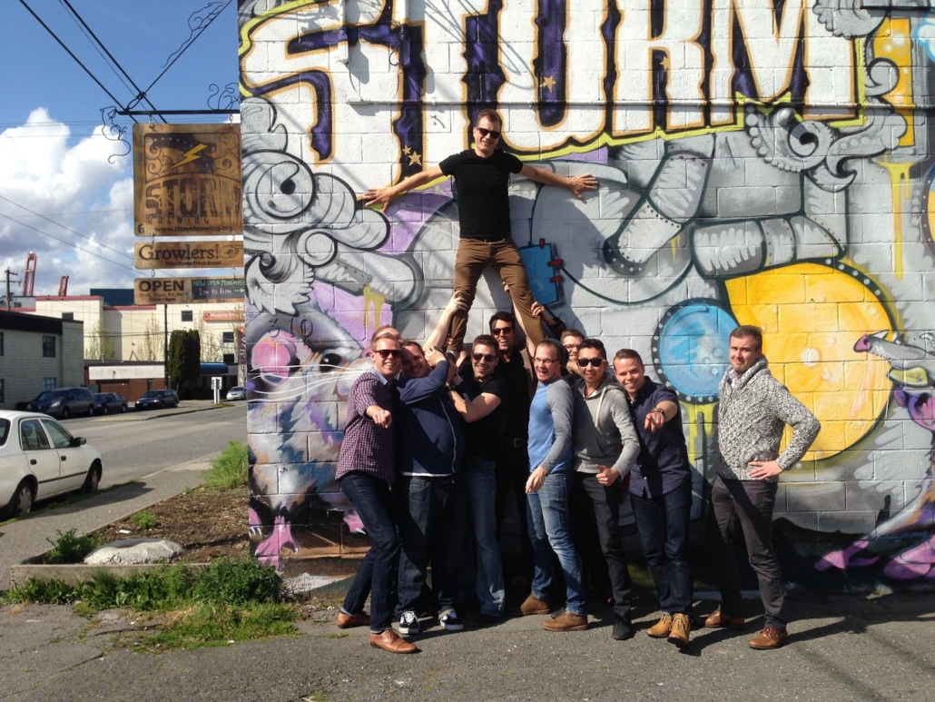 Bachelor Party Ideas - Vancouver Brewery Tours - Storm Brewing