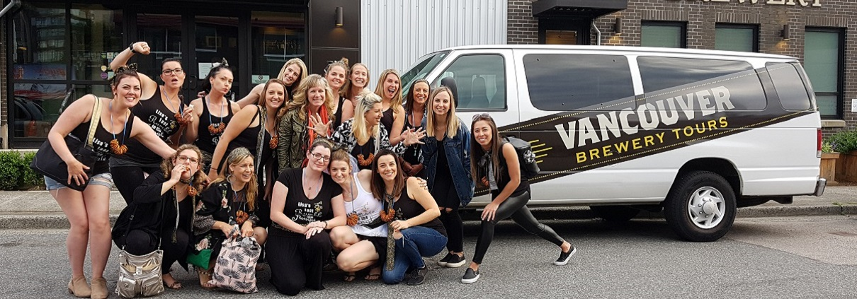 Bachelorette Party Ideas Vancouver - Bachelorette Brewery Tour - Banner