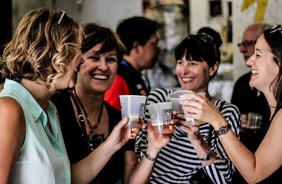 Bachelorette Party Ideas Vancouver - Bachelorette Brewery Tour - Drinks at Storm