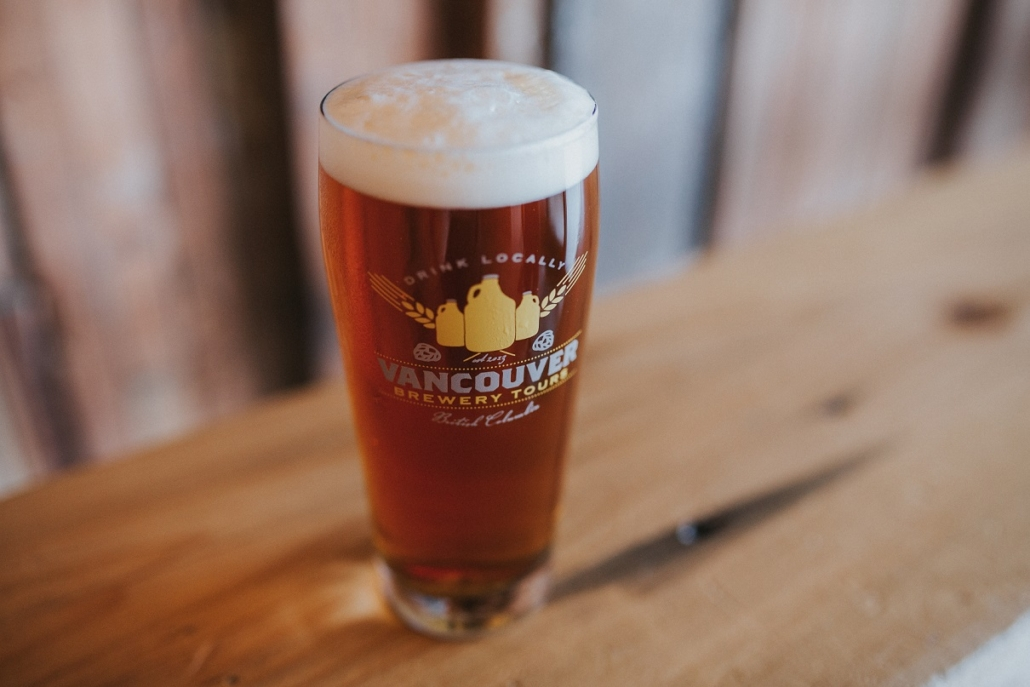 Bachelorette Party Ideas - Vancouver Brewery Tours Beer Glass
