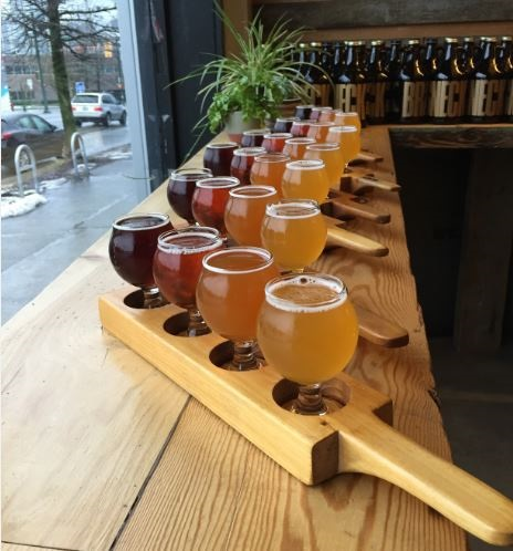 Bachelorette Party Ideas - Vancouver Brewery Tours - Brassneck Brewery Beers
