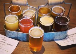 Vancouver Brewery Tours Inc. Beer Flights at Steel Toad Brewing