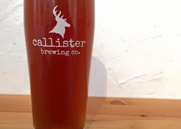 Beer Glass at Callister Brewing