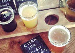 Beers at Big Rock Urban