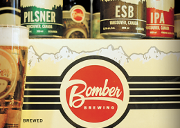 Vancouver Brewery Tours Inc. - Beers at Bomber Brewing