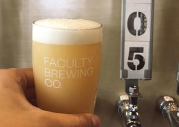 Beers at Faculty Brewing