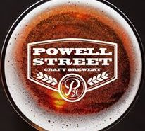 Beers at Powell St Brewery