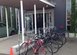 Vancouver Brewery Tours Inc. - Bike Racks outside Strange Fellows Brewing