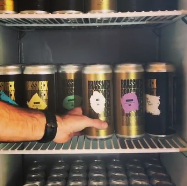 Brassneck Brewery Beer in Cans