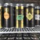 Brassneck Brewery Canned Beers in Fridge