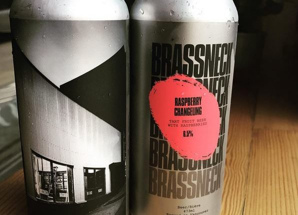 Brassneck Brewery Raspberry Changeling in Cans