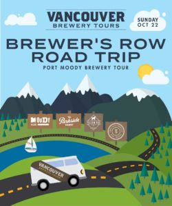 Vancouver Brewery Tours Inc. - Brewers Row Road Trip