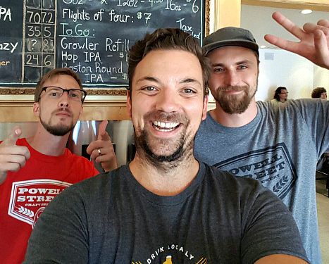 Vancouver Brewery Tours at Powell St. Brewery