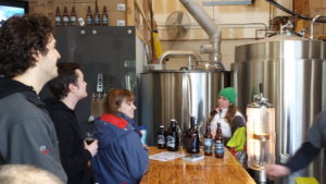 Brewery Tour at Bridge Brewing
