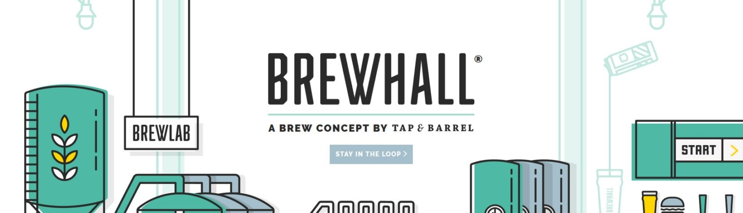 Tap and Barrel - Brewhall - New Vancouver Brewery