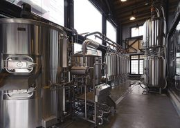 Vancouver Brewery Tours Inc. Brewhouse at Steel Toad Brewing
