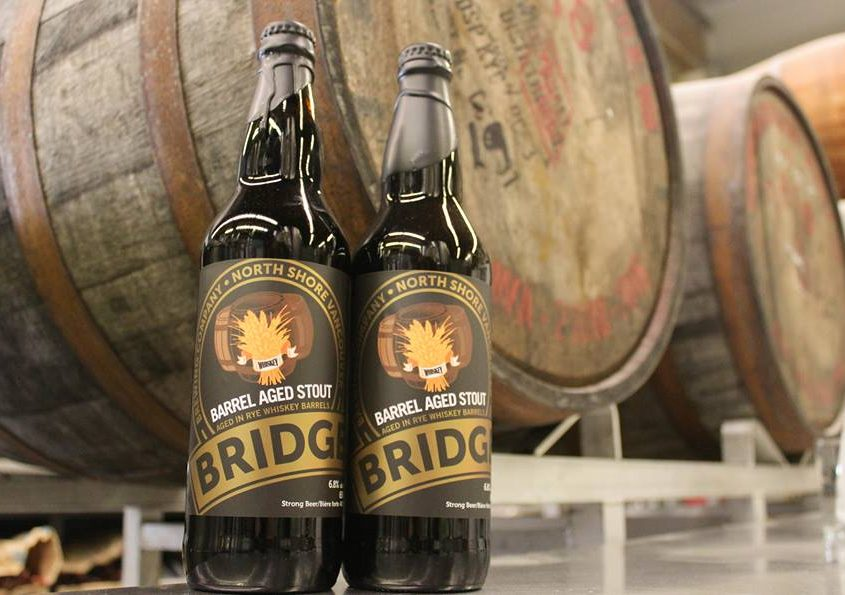 Vancouver Brewery Tours Inc-Bridge Brewing Barrel Aged Beers