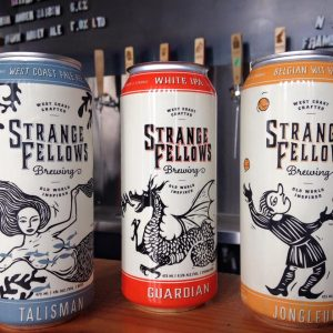 Vancouver Brewery Tours Inc. - Canned Beers at Strange Fellows Brewing