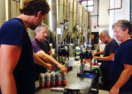 Vancouver Brewery Tours Inc. -Canning Day at Off the Rail Brewing