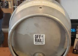Vancouver Brewery Tours Inc. -Cask Beer at Off the Rail Brewing