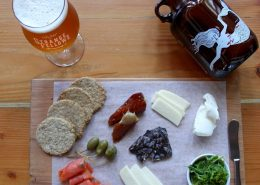 Vancouver Brewery Tours Inc. - Charcuterie at Strange Fellows Brewing