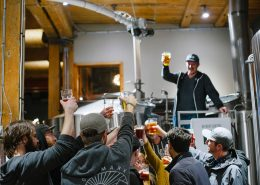 Vancouver Brewery Tours Inc -Cheers at Postmark Brewing