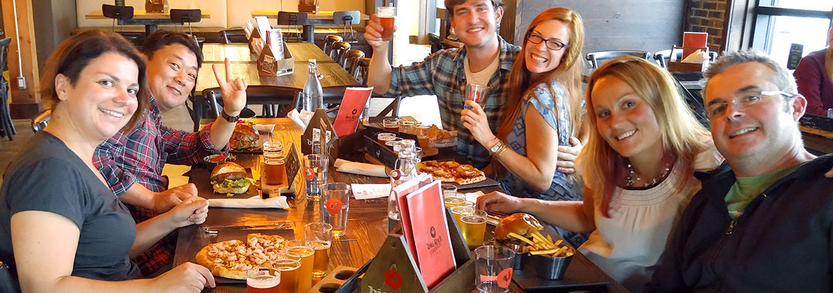Craft beer food tour foodies rejoice the best of for Craft beer and food