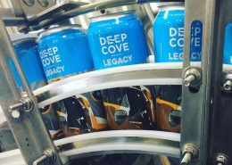 Vancouver Brewery Tours Inc. -Deep Cove Brewers Beer Cans