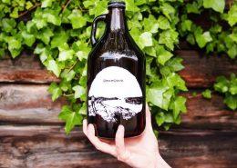 Deep Cove Brewers Growlers of beer
