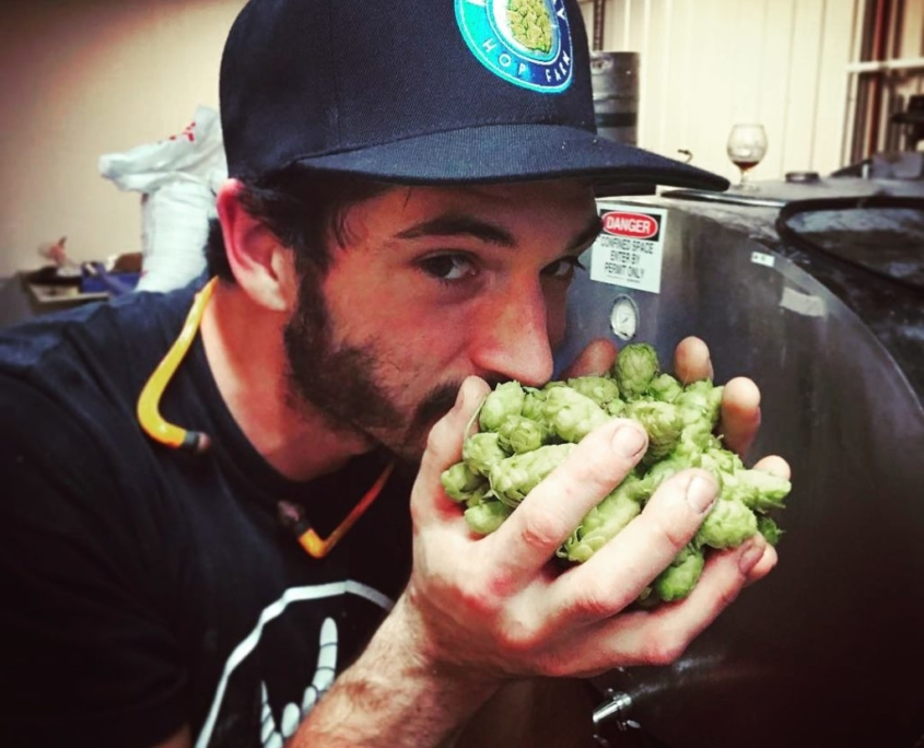 Dine Out Vancouver - Italian Brewery and Culinary Tour - Fresh Hops at Luppolo