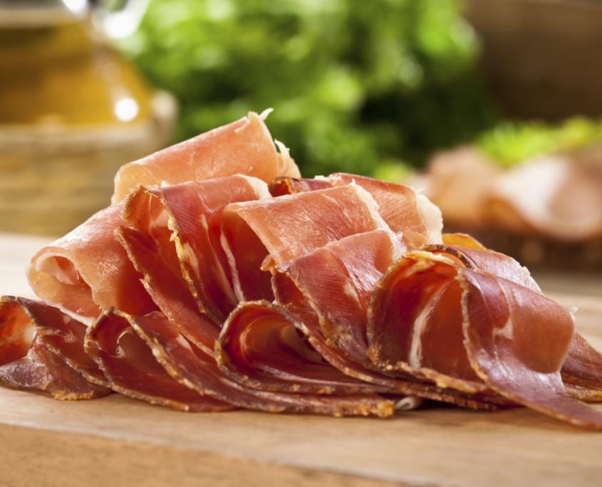 Dine Out Vancouver - Italian Brewery and Culinary Tour - La Grotta Del Formaggio Prosciutto
