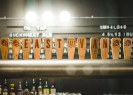 East Van Brewing Beer Taps