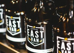 East Van Brewing Growlers