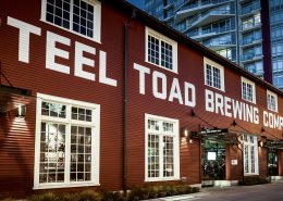 Vancouver Brewery Tours Inc. Exterior of Steel Toad Brewing