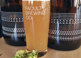 Vancouver Brewery Tours Inc. - Faculty Brewing Fresh Hop Beer