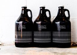 Vancouver Brewery Tours Inc. - Faculty Brewing Growlers