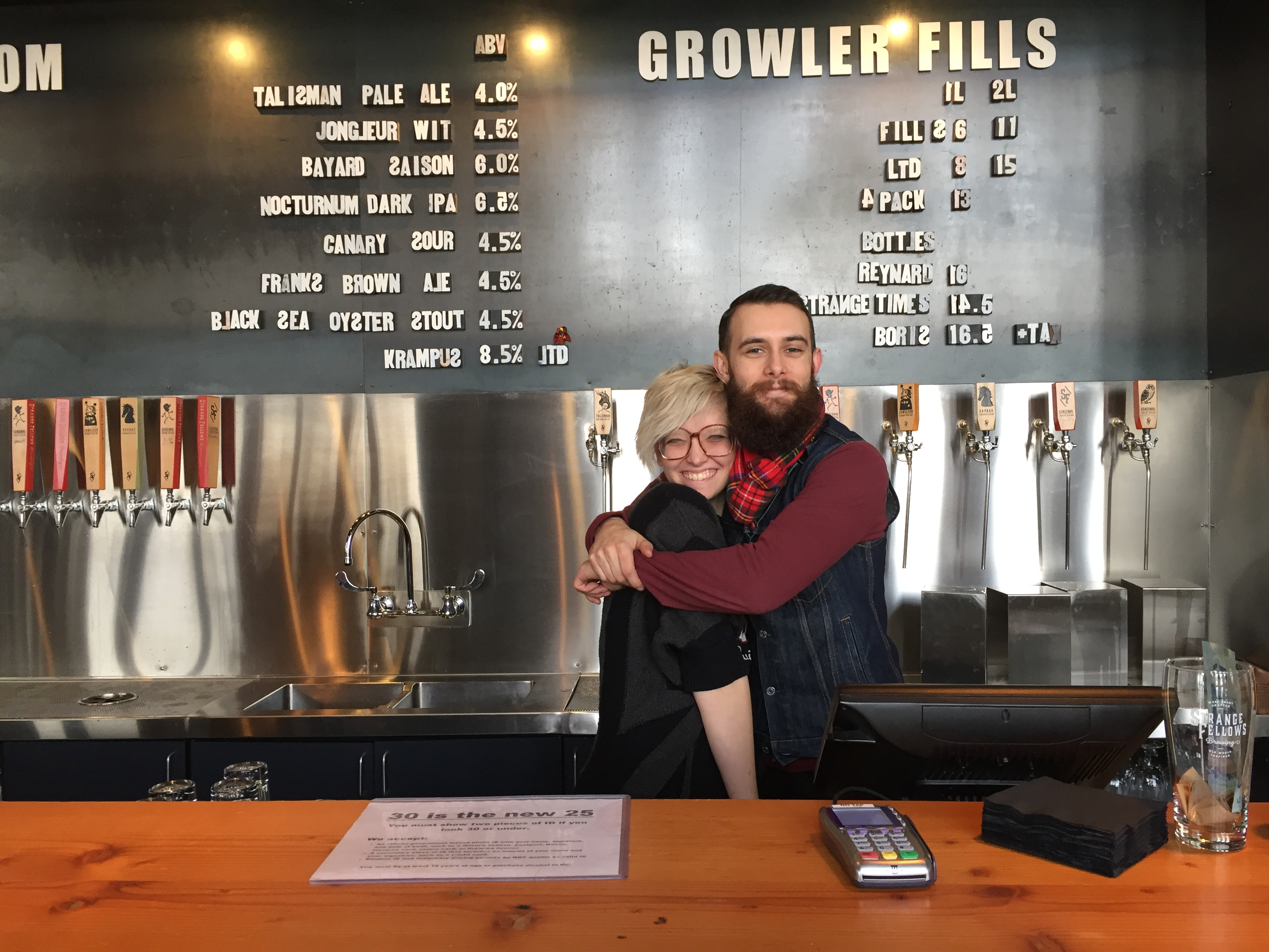 Holiday Staff Party Ideas - Vancouver Brewery Tours - Brewery Staff