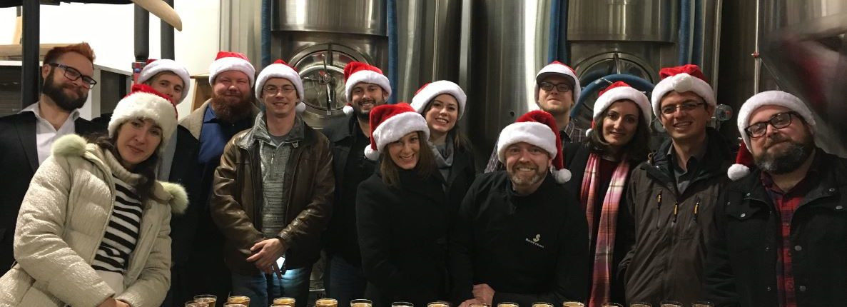 Holiday Staff Party Ideas - Vancouver Brewery Tours - Christmas Party