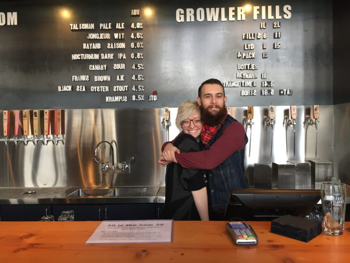 Vancouver Brewery Tours at Strange Fellows Brewing