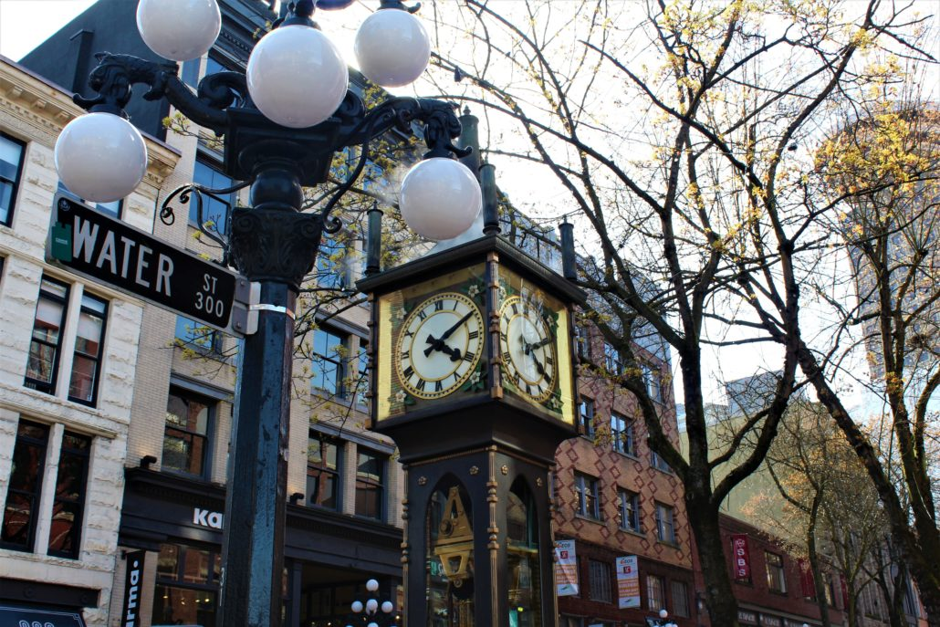 Gastown Pub Walk - Historical Gastown Steam Clock