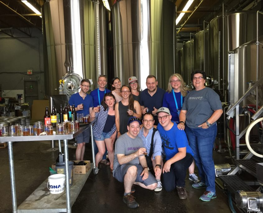 Vancouver Brewery Tours - Bridge Brewing - Group Shot