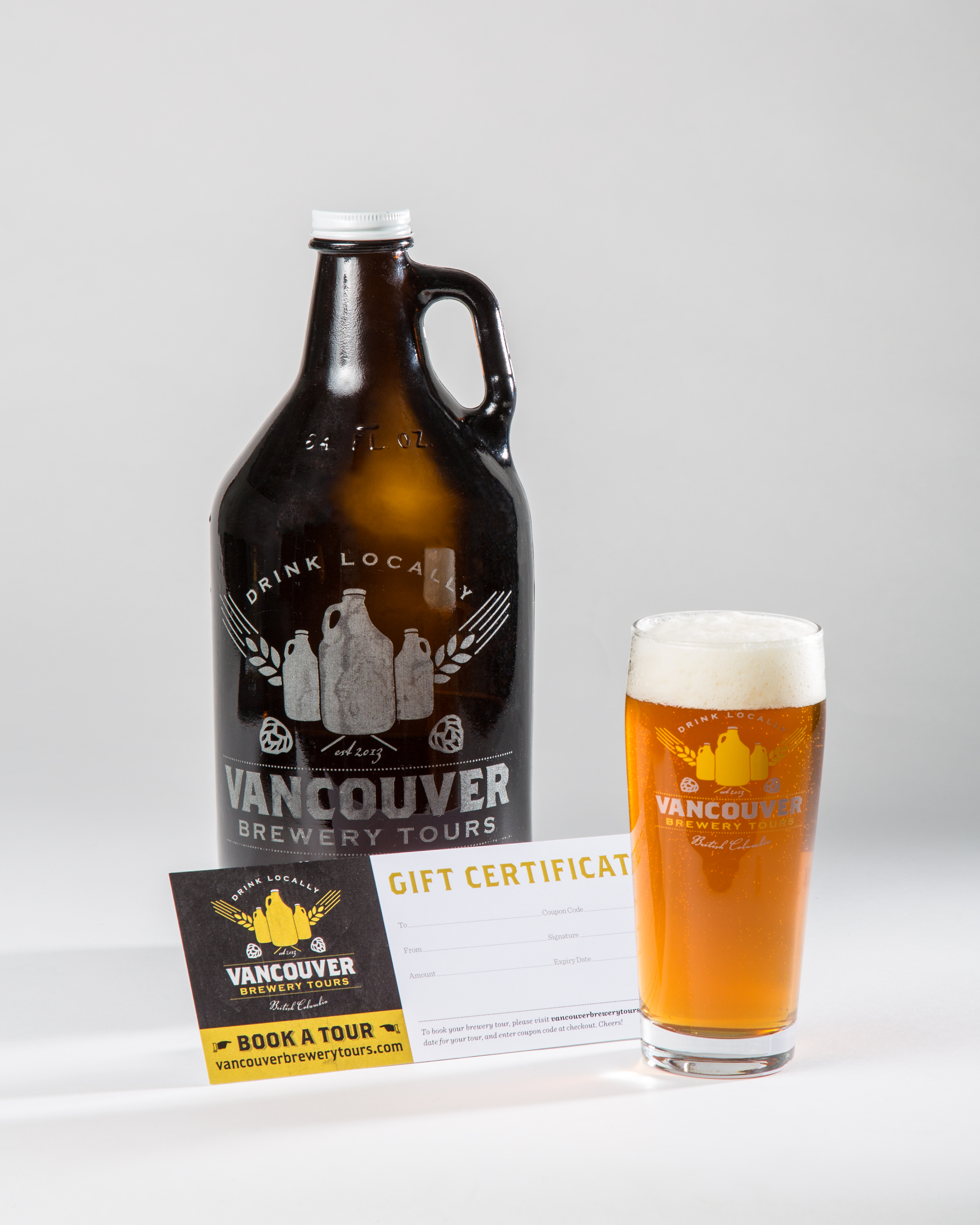 Vancouver Brewery Tours Gift Certificate