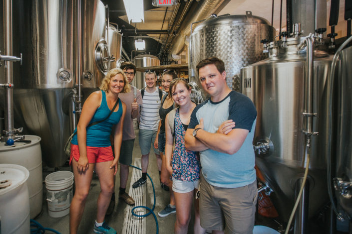 Vancouver Brewery Tours - Tour at Brassneck Brewery