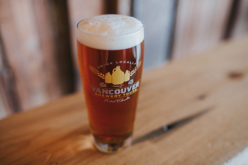 Vancouver Brewery Tours Craft Beer Glass