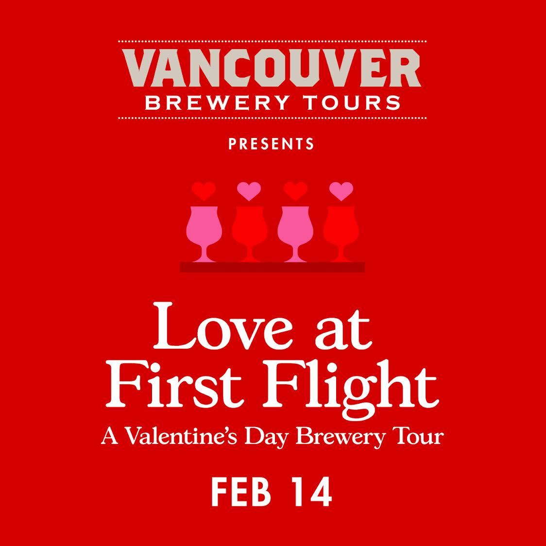 Love at 1st Flight - Valentines Day Graphic