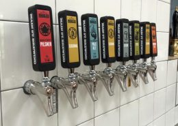 Main Street Brewing Tap Handles