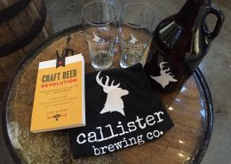 Merchandise at Callister Brewing